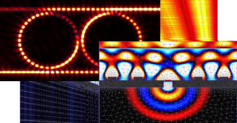 Photonics Software with FDTD and FETD Engine - Optical Simulations